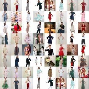 Модели одежды по нашим лекалам