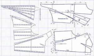 Разработка лекал и градация