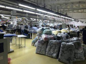 Пошив одежды оптом - Давальческое сырье