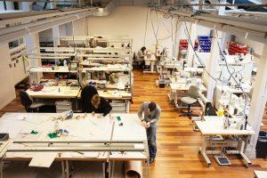 Разработка лекал и пошив одежды на производстве